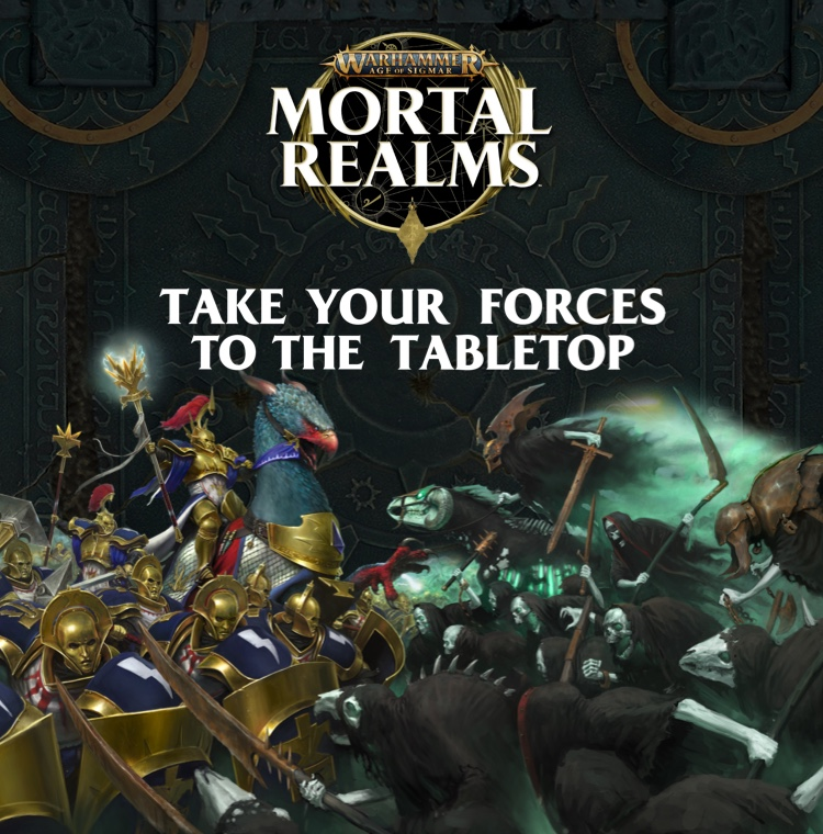 Warhammer Age of Sigmar: Mortal Realms