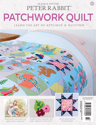 Peter Rabbit Patchwork Quilt Issue 32