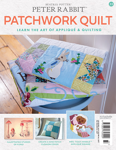 Peter Rabbit Patchwork Quilt Issue 33