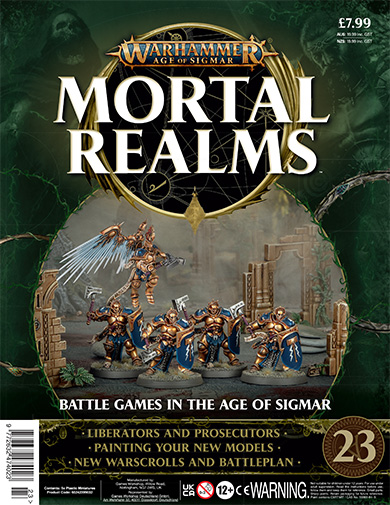 Warhammer Age of Sigmar: Mortal Realms Issue 23