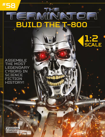 The Terminator: Build the T-800 Issue 58